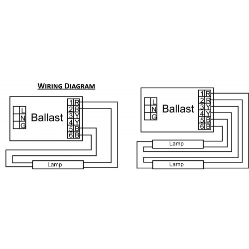 Advance Ballast Wiring Diagram : Lamp t ballast wiring diagram